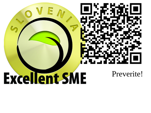 In Forwarding agency RCM d.o.o. we are proud to have achieved the Excellent SME certificate