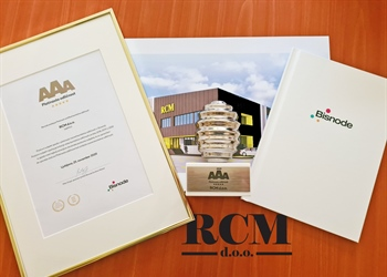 RCM is a proud winner of the Platinum Credit of Excellence